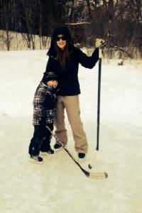 Jasmine Clark, a sex abuse counsellor, is also a mom and hockey player. She wants the Clinton Radars to dump Vandergunst. (Photo: Jasmine Clark)